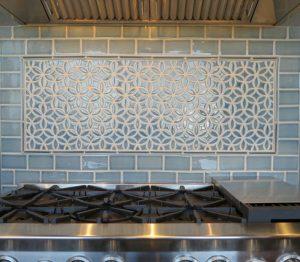 Oven Backsplash Tile Pattern