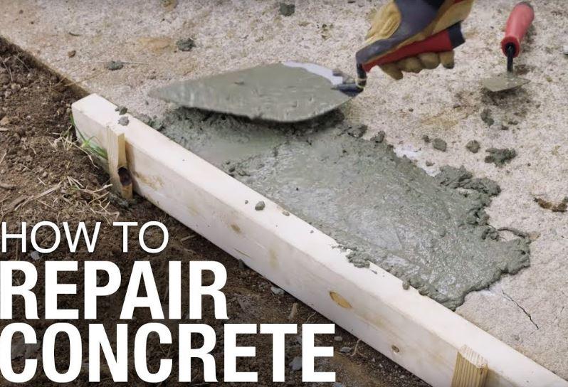 concrete repair tips